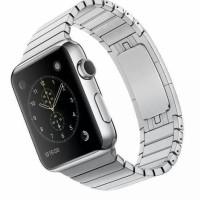 Strap Apple Watch Space Black / Silver Link Bracelet iwatch 42mm 38mm