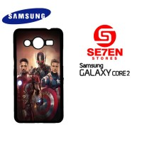 Casing HP Samsung Galaxy Core 2 avengers poster Custom Hardcase Cover