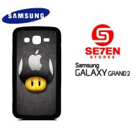 Casing HP Samsung Grand 2 Apple Logo LG Custom Hardcase Cover