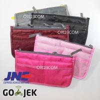 Jual Tas Korea Dual Bag - Tas Travel Wanita / Cewek Organizer Mini Murah Murah