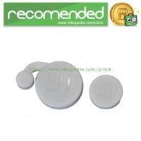 Plastic Lens Cap Cover for Xiaomi Yi - White