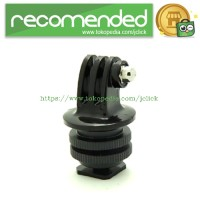 Foray M-CG Tripod Screw to SLR Camera Flash Shoe Mount Adapter for GoP