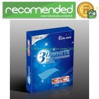Pemutih Gigi Ultra Whitening 3D Teeth Strips 14PCS - No Color
