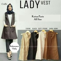 Baju Kerja Atasan Perempuan / Fashion Wanita Muslim / Blus Cardy Outer