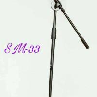 microphone stand sm33 sudah termasuk mic holder (import)