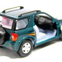 Toyota Rav4 Kinsmart Diecast Mainan Mobil Besi