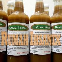 Ramuan Ihsanix Herbal Madu-Cuka Apel-Bawang Tunggal-Jahe Merah-Lemon
