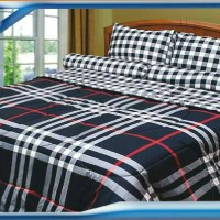 bed cover set katun jepang bluebery uk.160x200