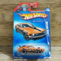 DIECAST HOT WHEELS FORD MUSTANG MACH 1 REBEL RIDES BATTLE FORCE 5