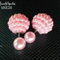 Jual Pearl Statement Stud Earrings Murah
