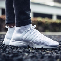 NIKE AIR PRESTO ULTRA FLYKNIT *All WHITE