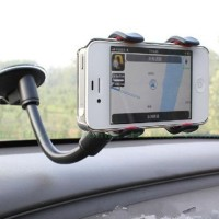 Car Phone Holder (Model jepit, muat hp uk kecil hingga hp max 6 INCH)