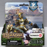 action figure schleich eldrador 70123 griffin knight with weapon