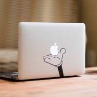 Macbook Decal - Mickey Hand