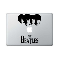 "Apple Mac Book 13"" Decal - The Beatles Faces"