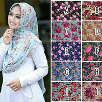 Hijab Jilbab Instant Pet Amanda Mix Motif Terbaru
