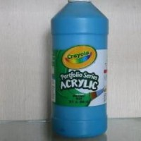 Crayola - Cat Acrylic Biru 946 Ml