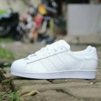 harga Adidas Superstar Full White Original Tokopedia.com