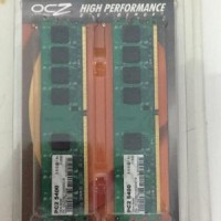 OCZ RAM DDR2 PC2-5400 512 X 2 DUAL CHANNEL KIT