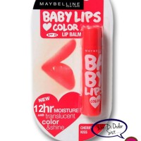 Cherry Kiss - Maybelline Baby Lips Color Lip Balm 12Hr