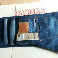 jeans levis original 511 commuter made in usa dongker scraf