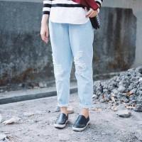 Jual Celana Panjang, Celana Jeans, Baggy Ripped Jeans Murah