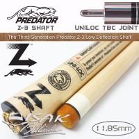 Predator Z-3 TBC Shaft - Uniloc Low Deflection Billiard Stick Biliar