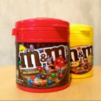 M&M Chocolate Candy BOTTLE