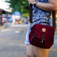 Jual Tas Kamera Sling Bag Camera Mirrorless DSLR - Firefly Ivers Maroon Murah