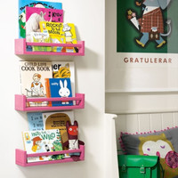 3pcs rak buku gantung/ floating shelves/rak terbang Model A IKEA