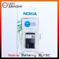 Baterai Nokia 1208, 1209, 1280, 1600, 1616, 1650 BL-5C Original