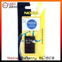 Baterai Nokia C2-06,X2-01,X2-05 BL-5CB Original Battery Batre OEM