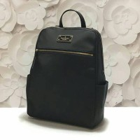 Tas Kate Spade Original. Kate Spade Hilo Backpack Black Nylon NWT