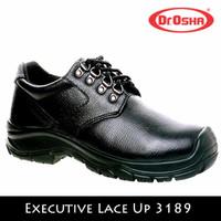 SEPATU DR OSHA SAFETY SHOES MAN EXECUTIVE LACE UP 3189 TALI HITAM