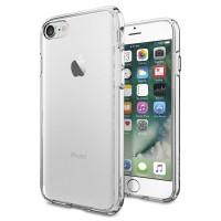 """Spigen SGP Ultra Hybrid Case for iphone 7(4.7"""")-Crystal Clear"""