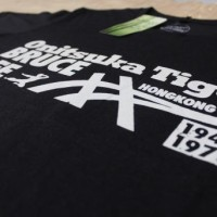 Zainist Tee Onitsuka Tiger Bruce Lee Edition Black