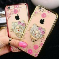 Softcase Hello Kitty Shining Ring Swarovski for Samsung A720 A7 2017