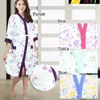Jual NEW Kimono Handuk Ibu special Batik (Hut RI 71 ^_^) merdeka!! Murah