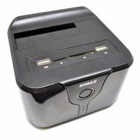PROMO Kimax Docking Harddisk Wifi HHD 2.5 3.5 SATA III Card Reader USB