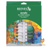 Cat Acrylic Reeves 24 Acrylic Color Set