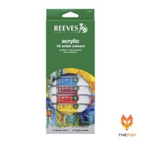Cat Acrylic Reeves 12 Acrylic Color Set