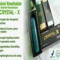 CRYSTAL X SOLUSI MEMANJAKAN DAERAH KEWANITAAN ANDA