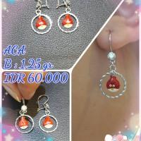 accessories aksesoris wanita cewek perhiasan perak silver anting anak