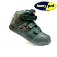 sepatu sekolah homyped sniper black mono