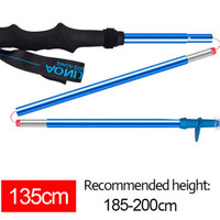 1pcs AONIJIE Z DESIGN TREKKING POLE 135cm BLUE