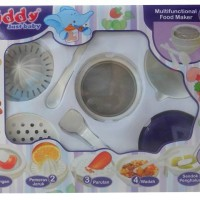 Jual Kiddy Multifunction food Maker/gift set piring makan bayi/Alat mpasi Murah
