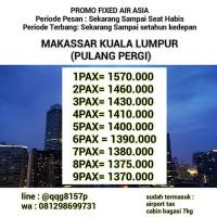 Tiket Pesawat Air Asia Makassar Kuala Lumpur
