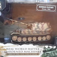 Diecast Tank German Elefant Poland 1944 Forces Of Valor 1/72 Unimax