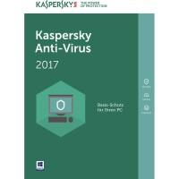 Kaspersky Anti-Virus Security 2017 (KAV 2017) | 1 PC 1 Tahun