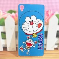 Sony Xperia Z1 - Softcase Custom Case Casing Cover Doraemon DM-19
